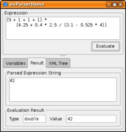 STX Expression Parser C++ Framework v0 7 - panthema net