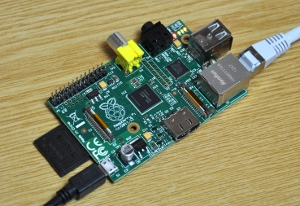Photo of my Raspberry Pi Model B