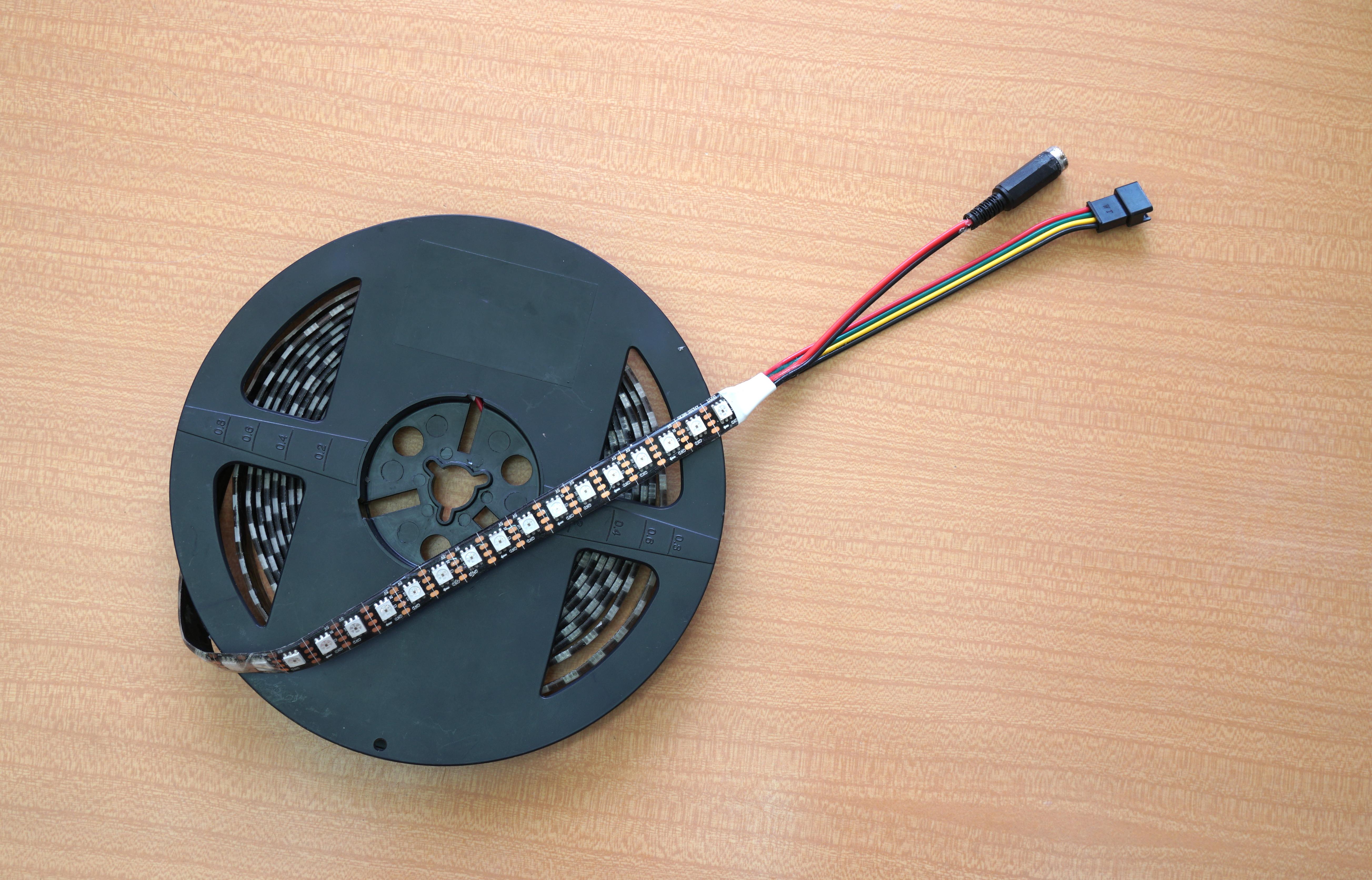 BlinkenSort with Sound - The Sound of LED Sorting Algorithms